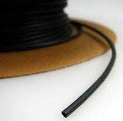 Zsugorcső 1,2/0,6-os vékonyfalú, ragasztó nélküli fekete