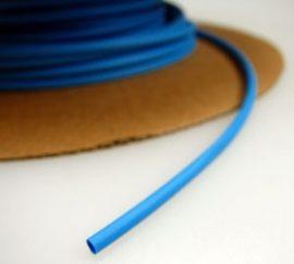 Zsugorcső 120/60-as vékonyfalú, ragasztó nélküli kék