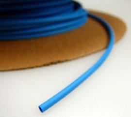 Zsugorcső 150/75-ös vékonyfalú, ragasztó nélküli kék