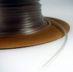 Zsugorcső 150/75-ös vékonyfalú, ragasztó nélküli transzparens