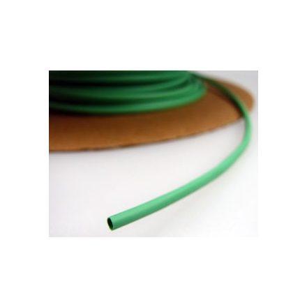 Zsugorcső 120/60-as vékonyfalú, ragasztó nélküli zöld