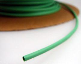 Zsugorcső 150/75-ös vékonyfalú, ragasztó nélküli zöld