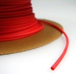 Zsugorcső 150/75-ös vékonyfalú, ragasztó nélküli piros